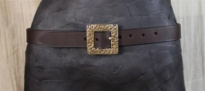 Square Texture 3 CM Belt