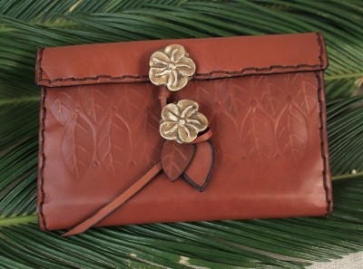 Woman Wallet Roses