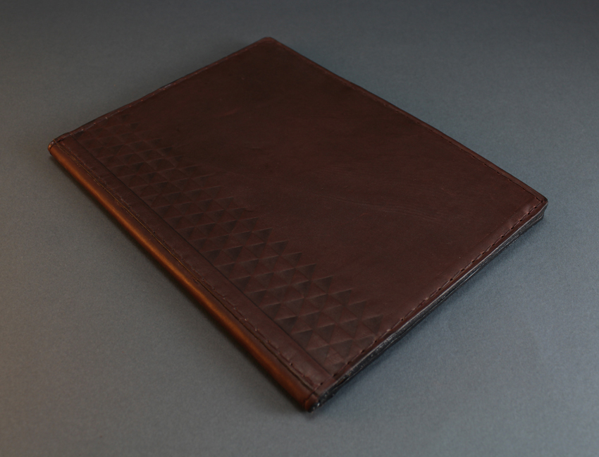 Small leather sewing Folder
