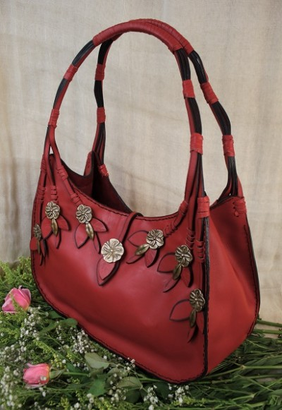 Horizontal Roses Packet Bag