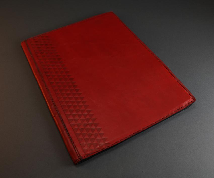 Large leather sewing Folder