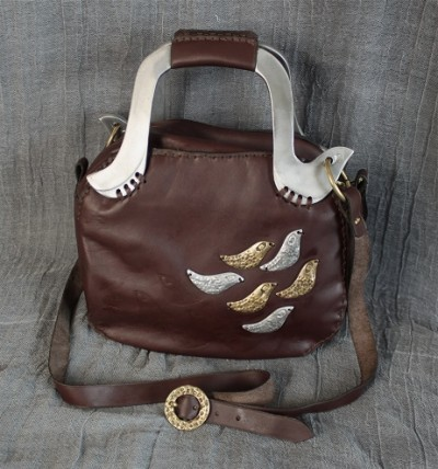Small Dove Hand Bag