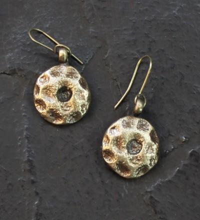 Brass Rings Earring