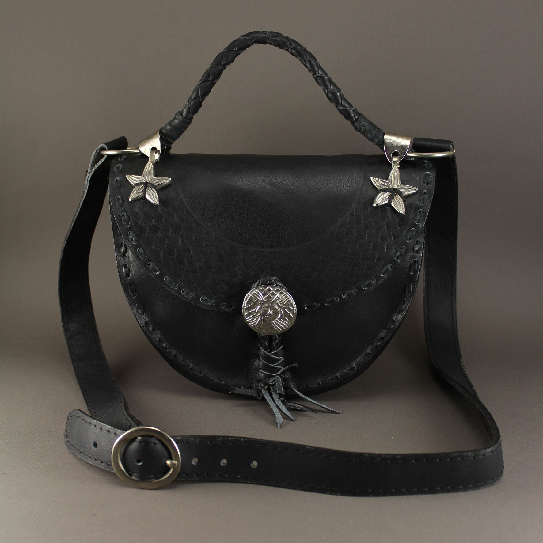 Diamond shaped Medusa bag