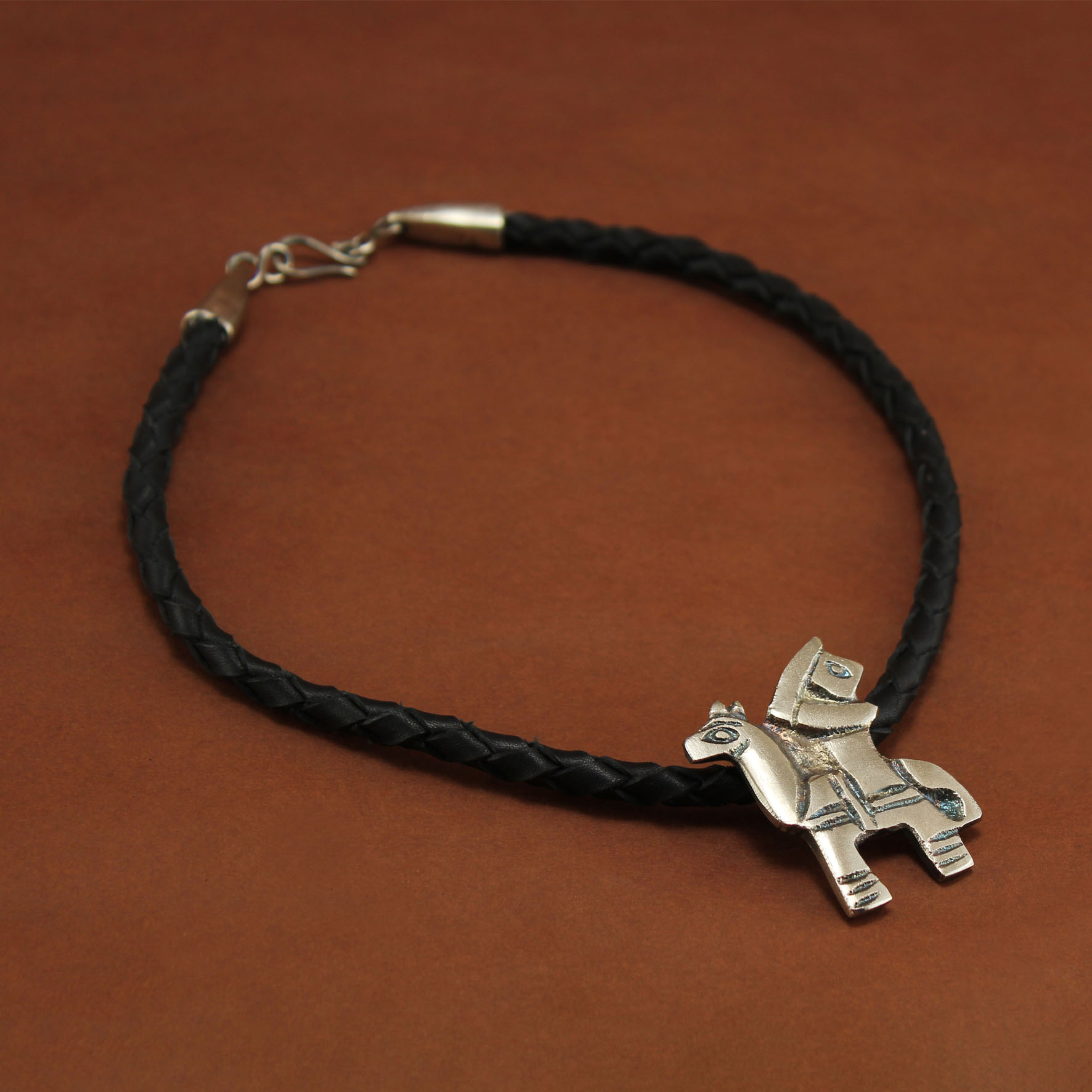 Braided Abu Zeid El Helaly Necklace