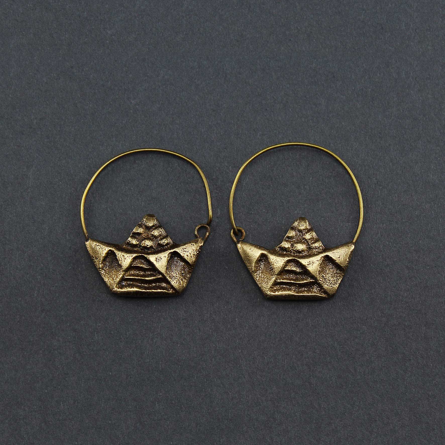 Medium Boat Earring