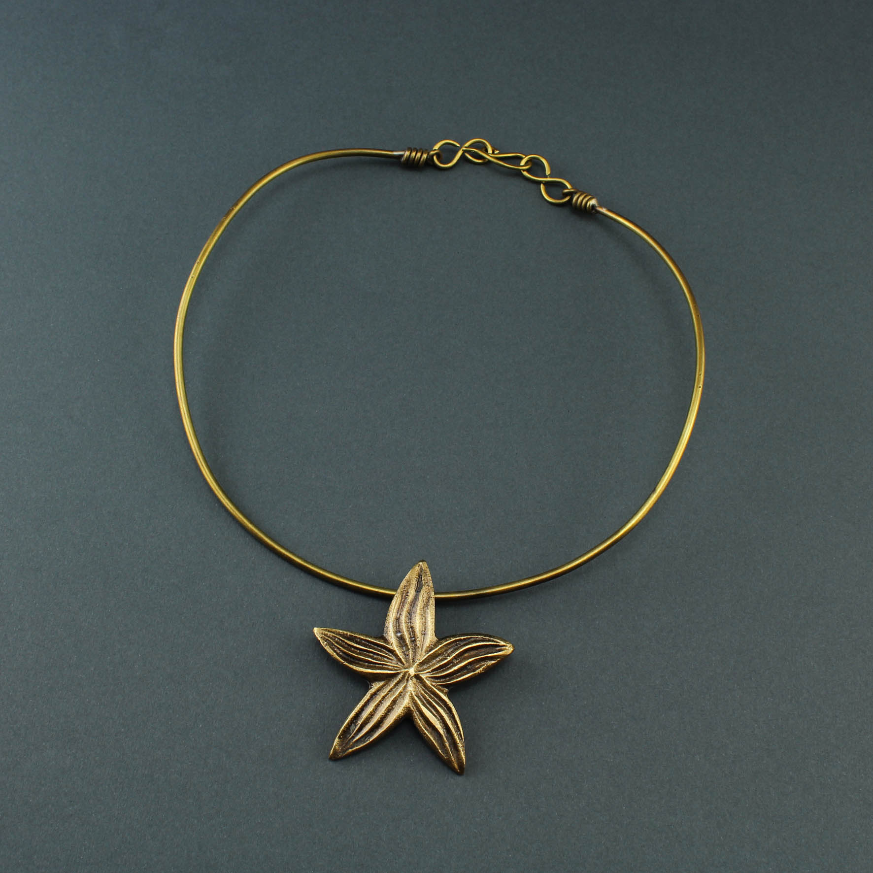 Wire Star Necklace