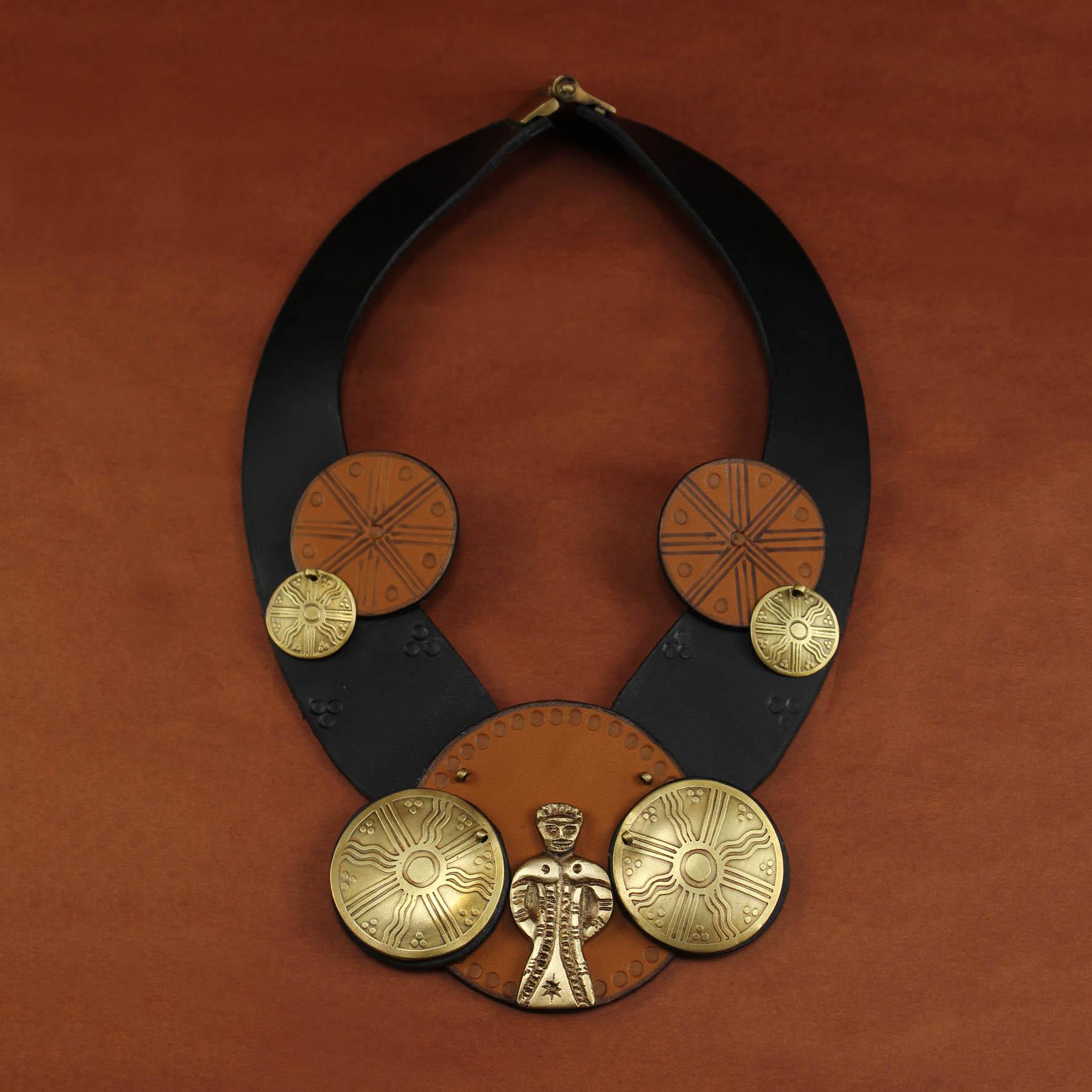 "Festive ""Mouled"" Doll Necklace"