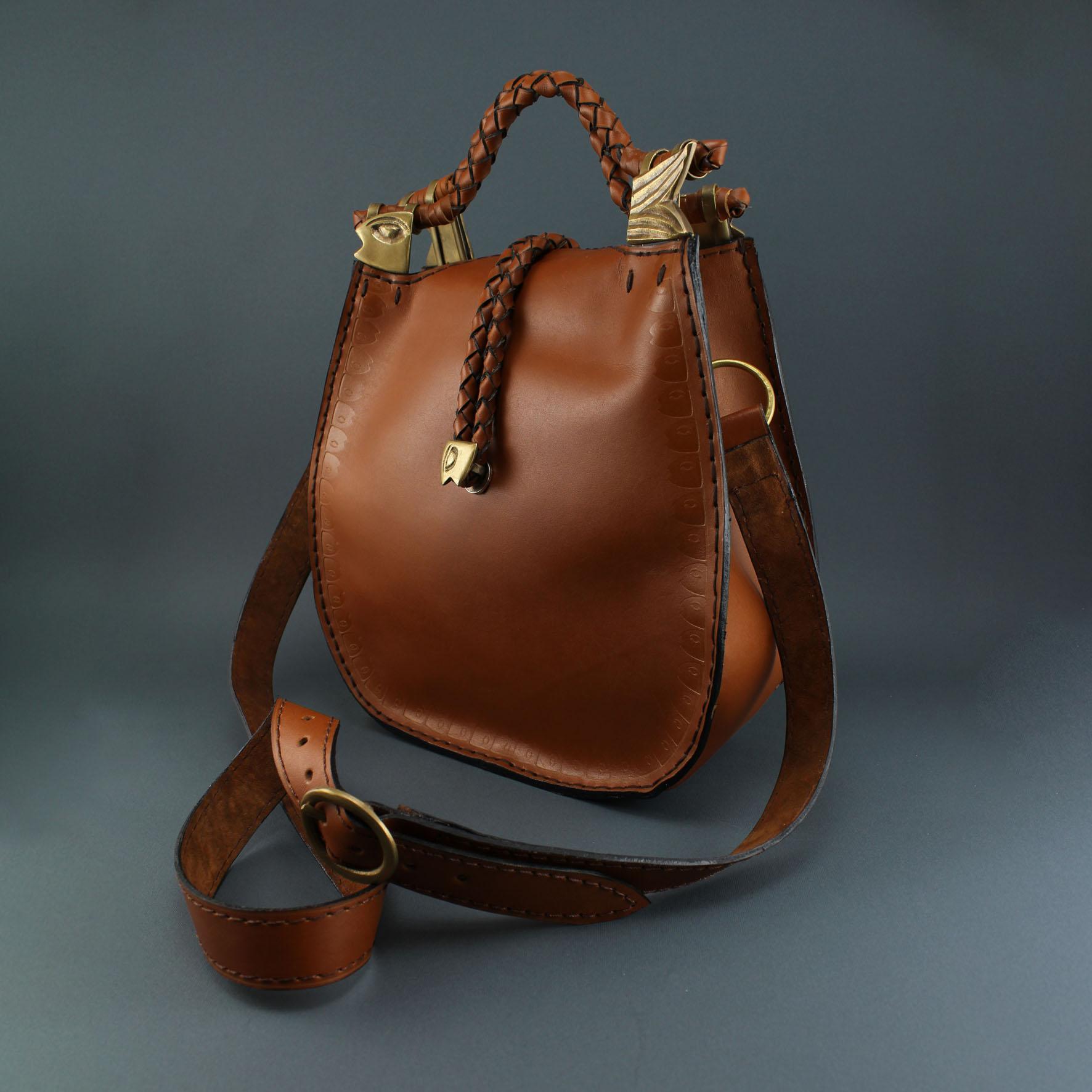 Vertical Fish Handbag