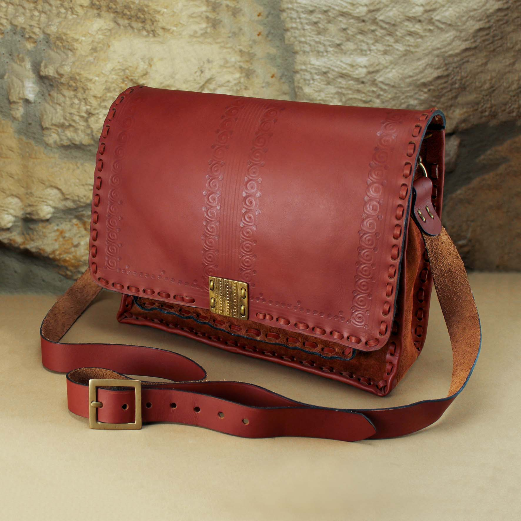 Leather Cross bag