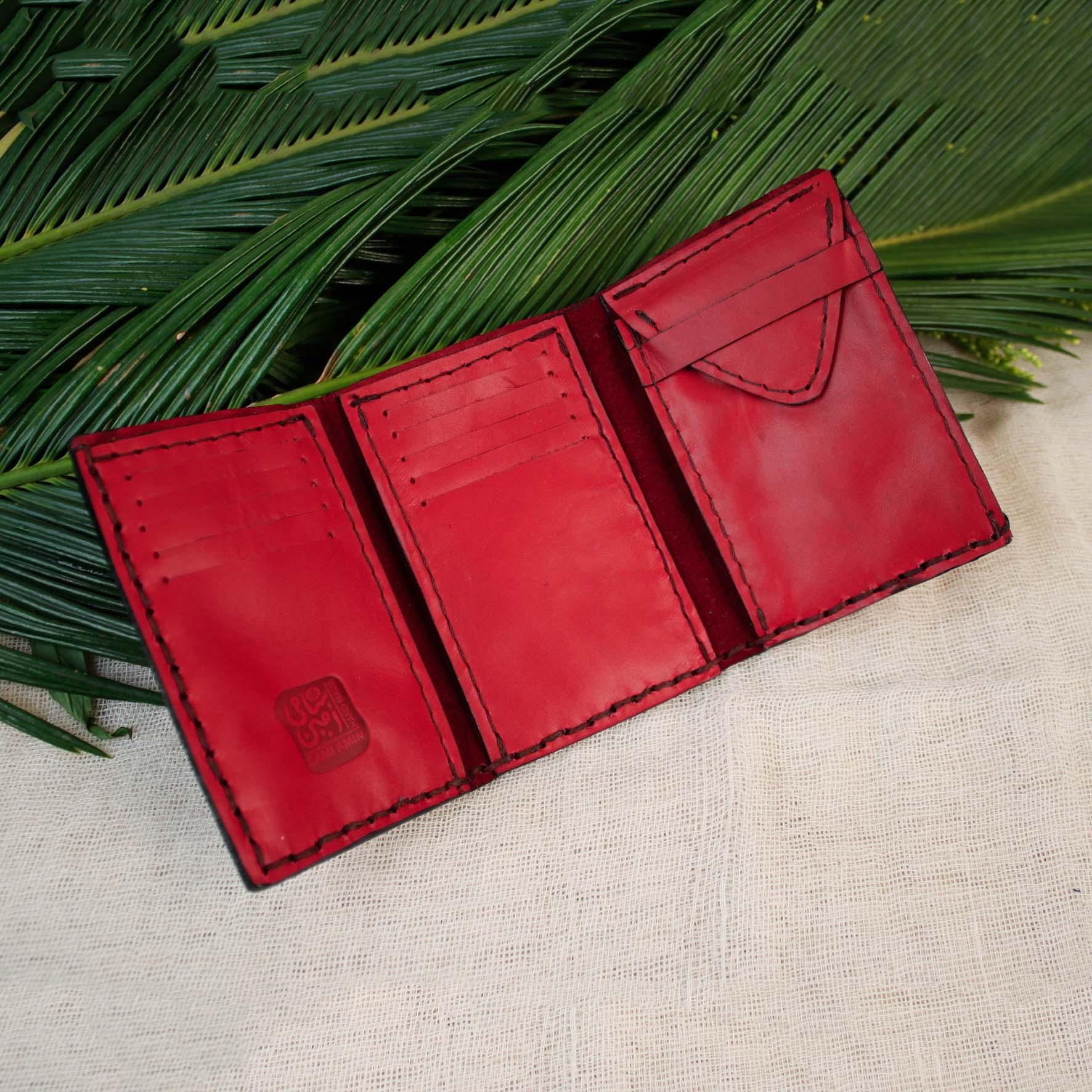 Large Tree Leaf Wallet