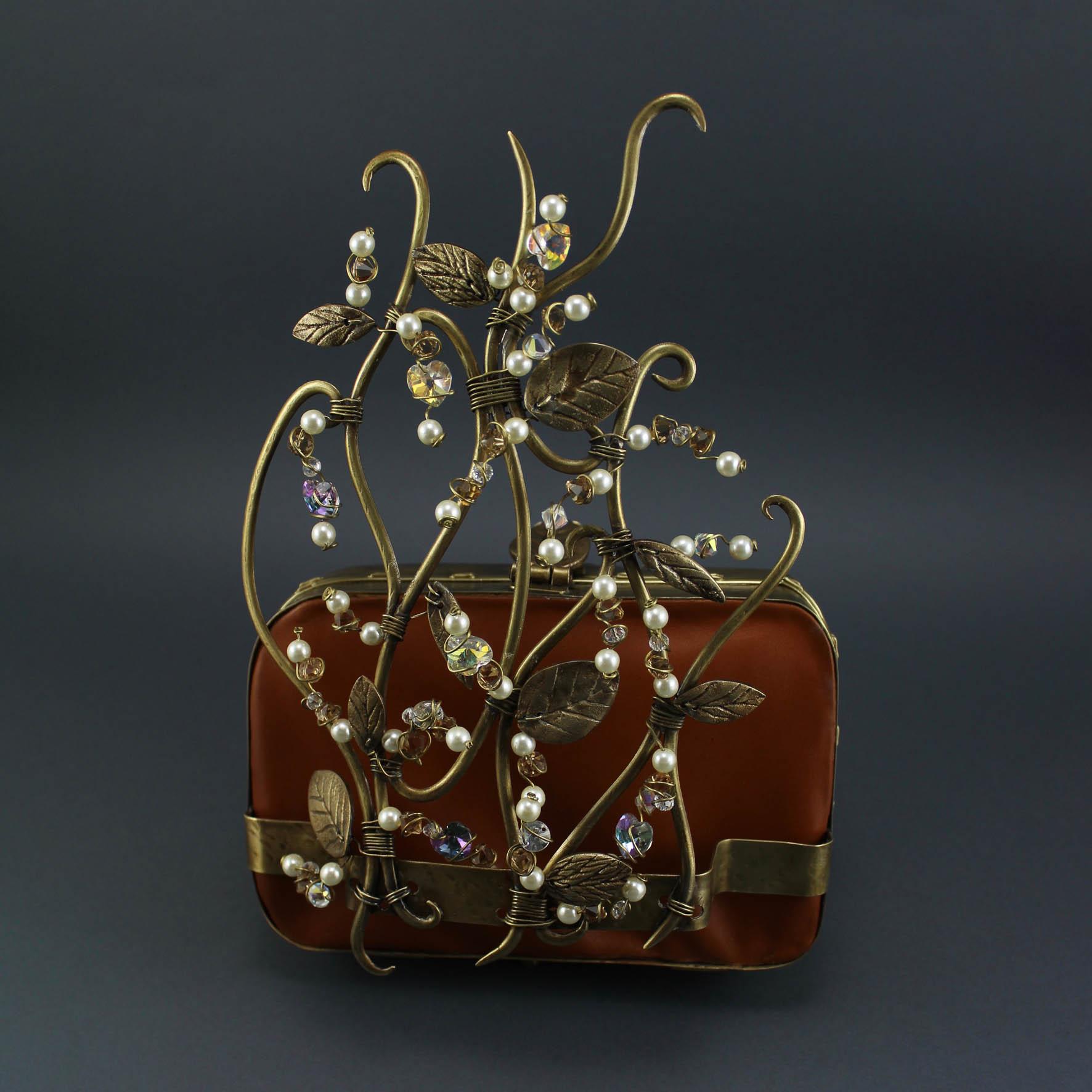 Leaves crystal Bag