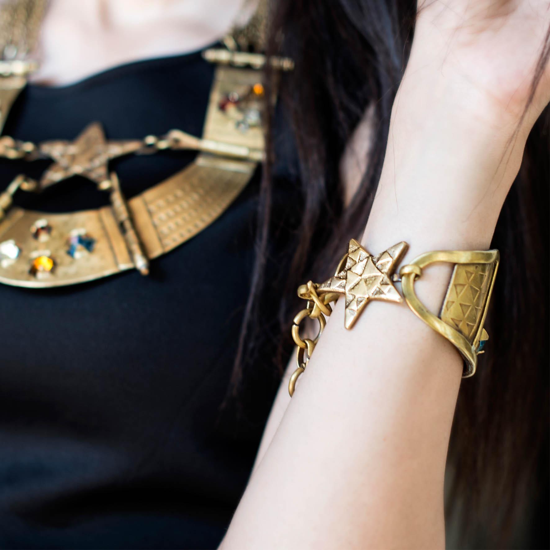 Crystal stars Bracelet