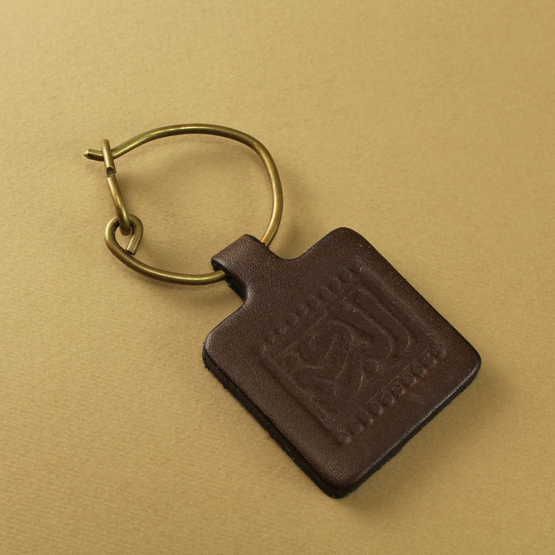 Leather (Blessing) Keyring
