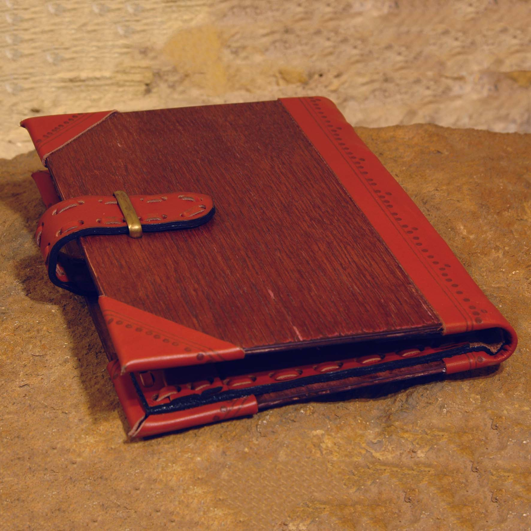 Wood & Leather Folder (small)