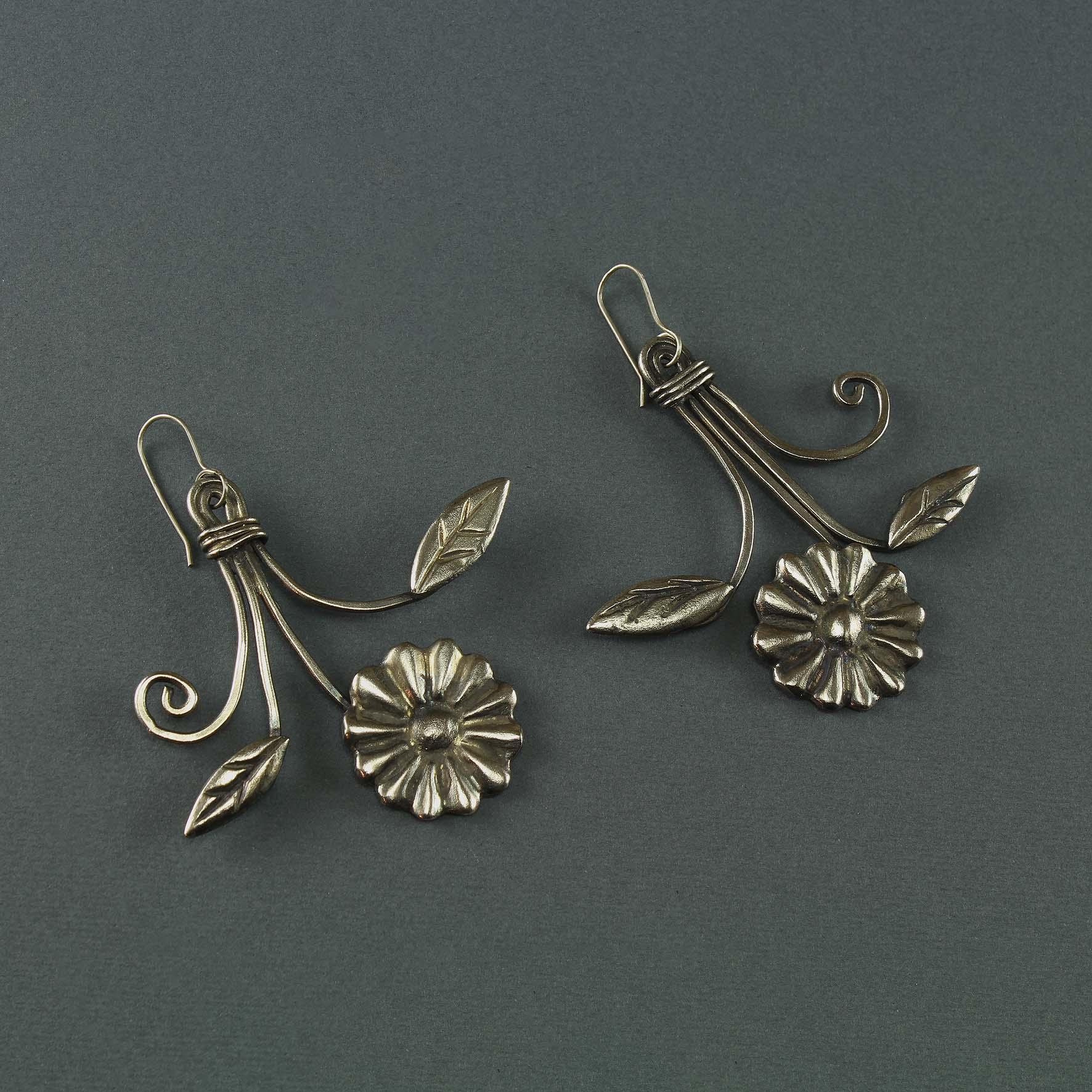 Flowers Bouquet Earrings