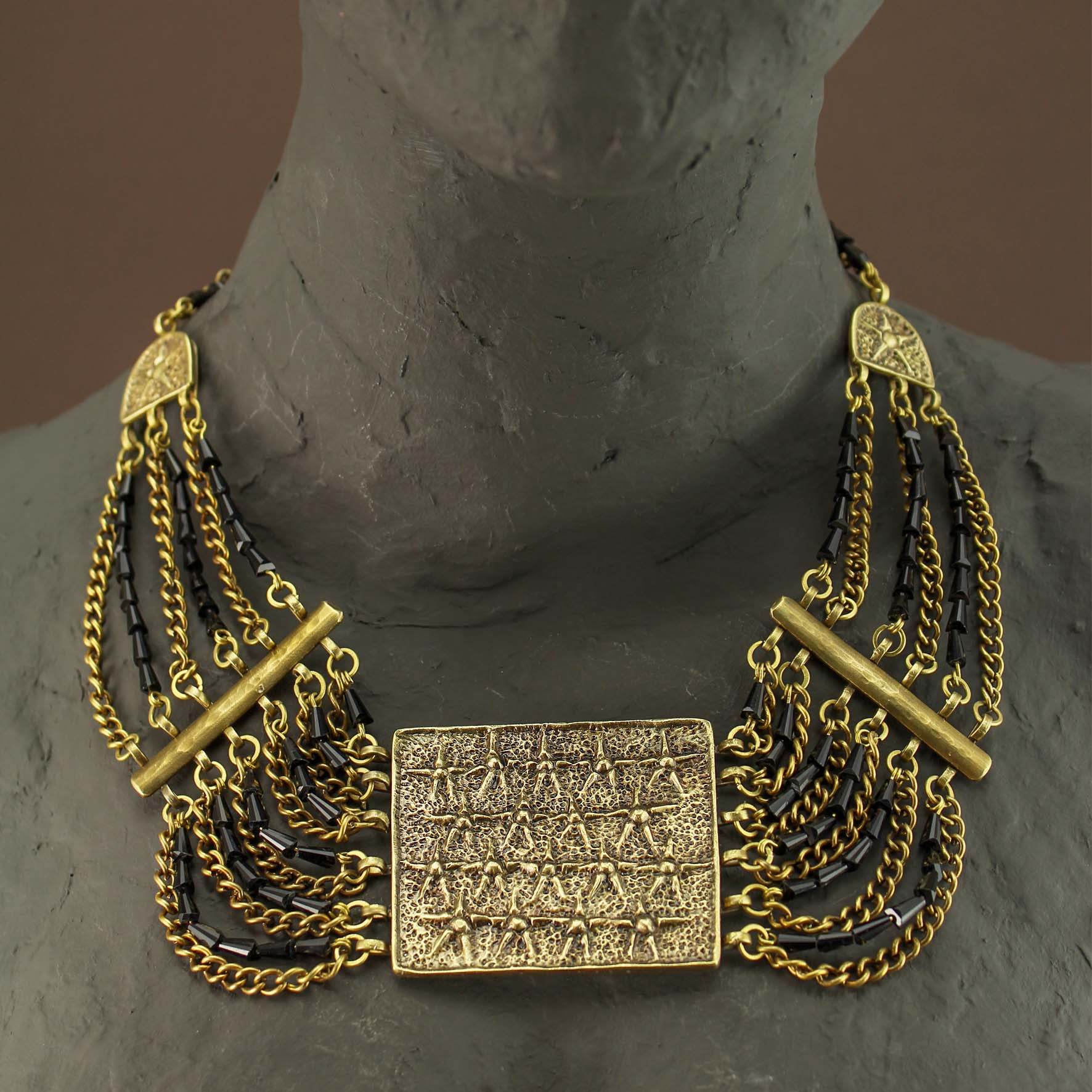 Pharaonic Stars Necklace