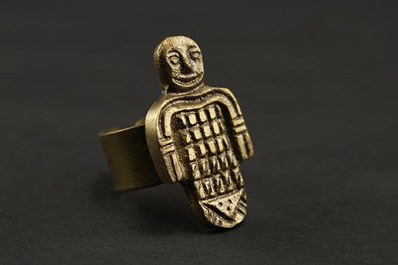 Pharaonic Doll Ring