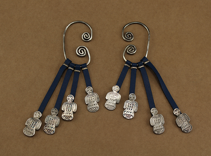 Shawl Pharaonic Doll Earrings