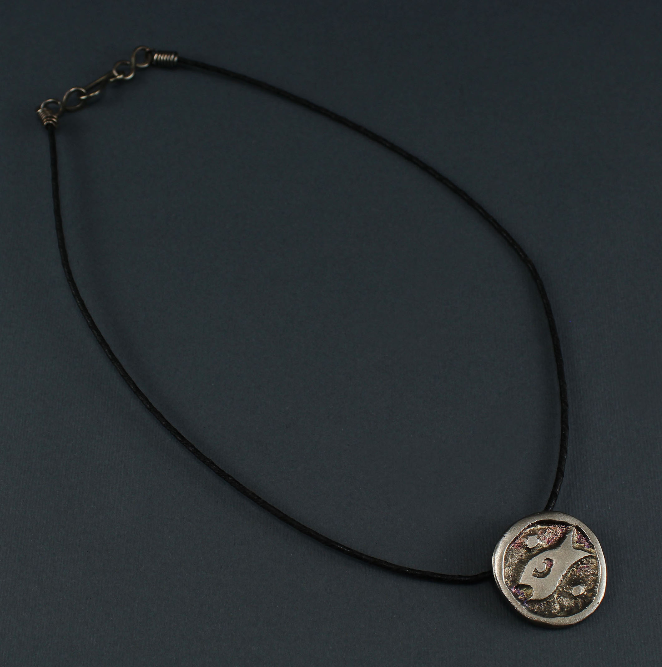 "Circle Fish ""Hur"" Necklace"
