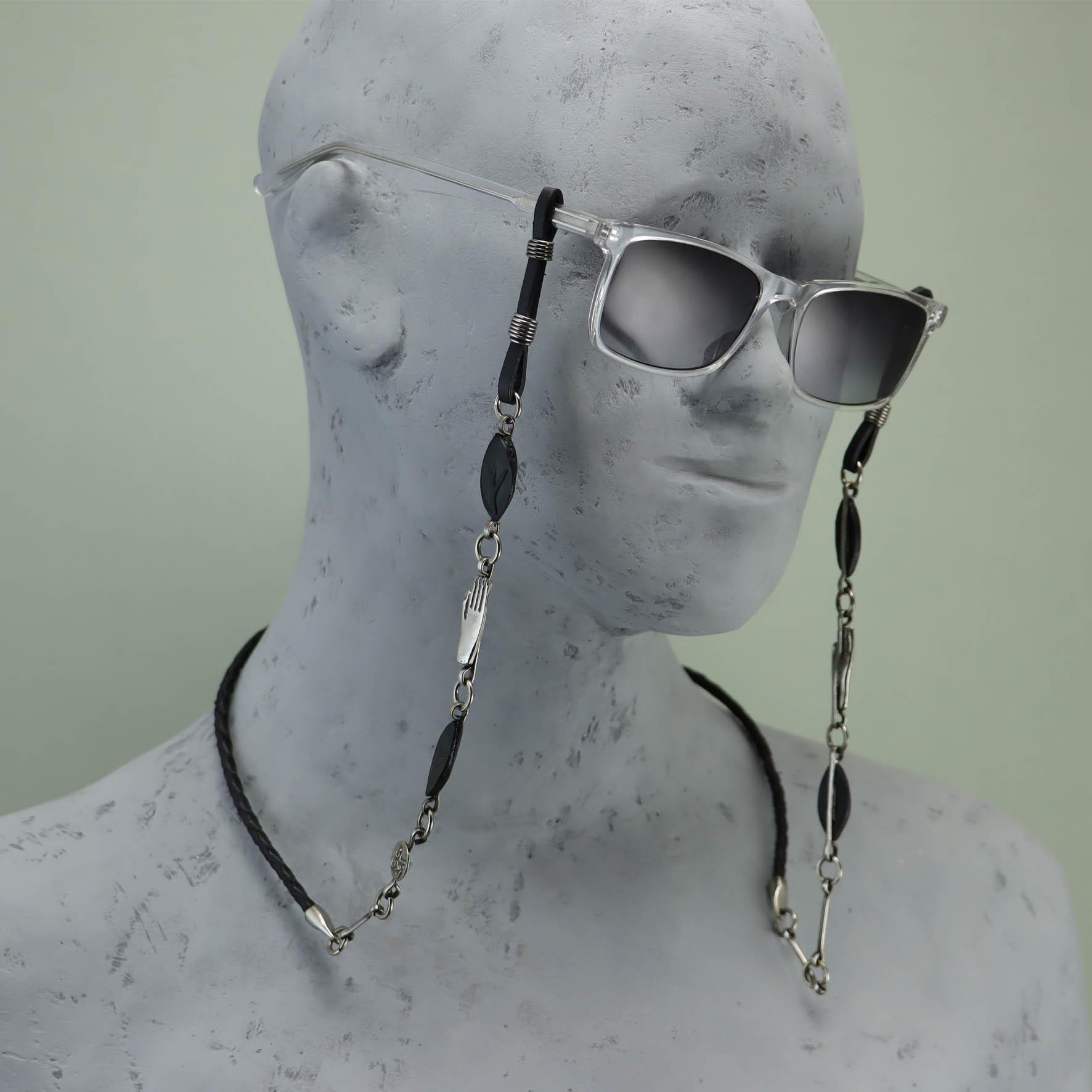 Pharaonic Hand glasses chain holder