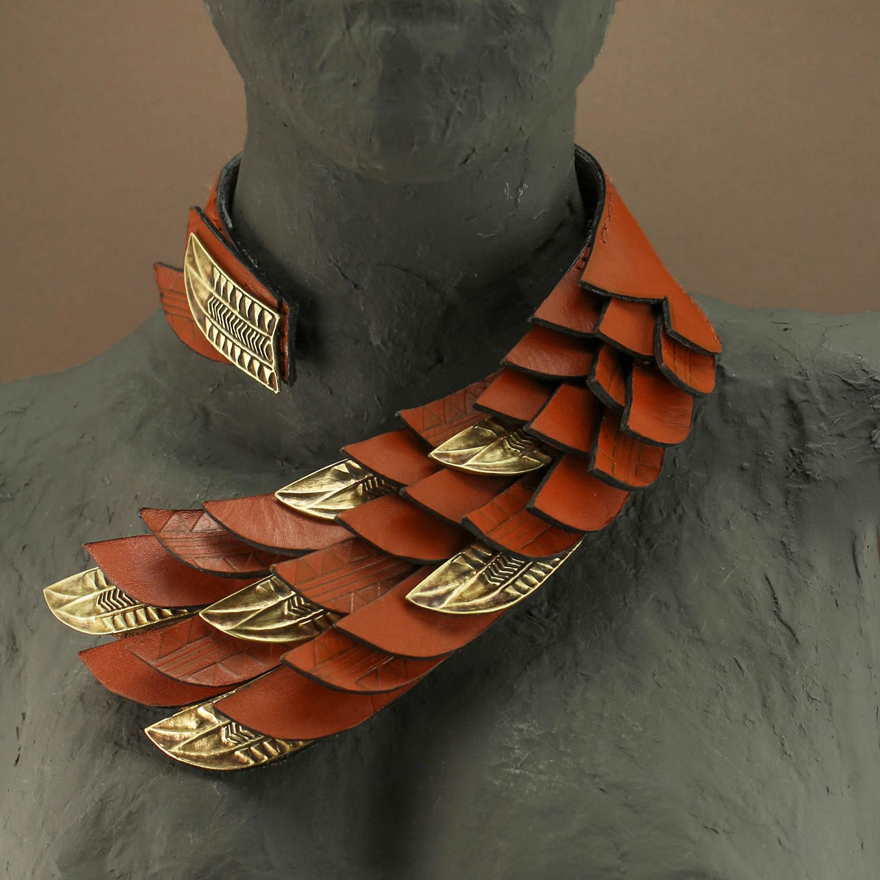 Horus Wings Collar